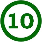 10 в кругу