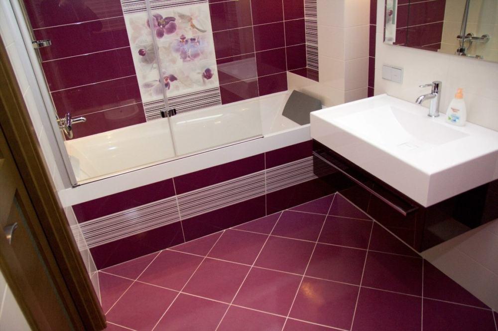 """Ремонт """"под ключ"""" ванной комнаты В01"""