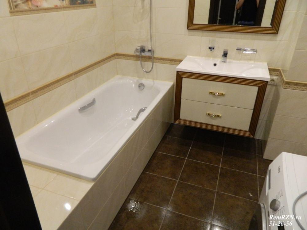 """Ремонт """"под ключ"""" ванной комнаты В02"""