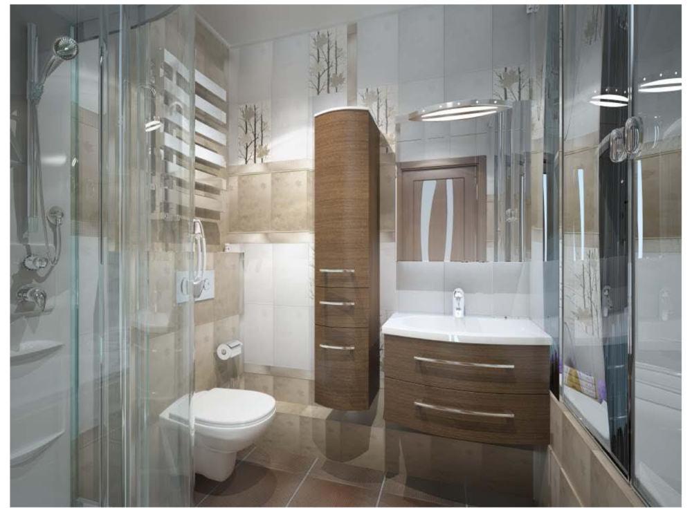 """Ремонт """"под ключ"""" ванной комнаты В30"""