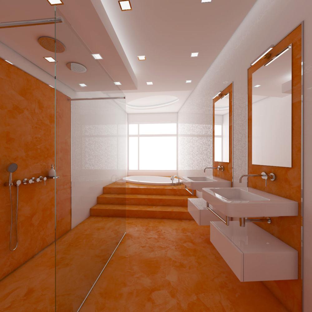 """Ремонт """"под ключ"""" ванной комнаты В44"""