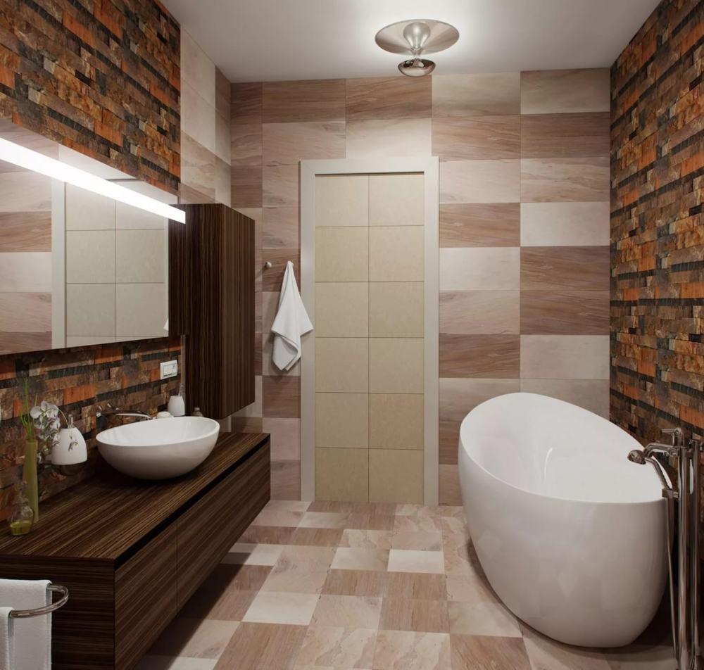 """Ремонт """"под ключ"""" ванной комнаты В55"""