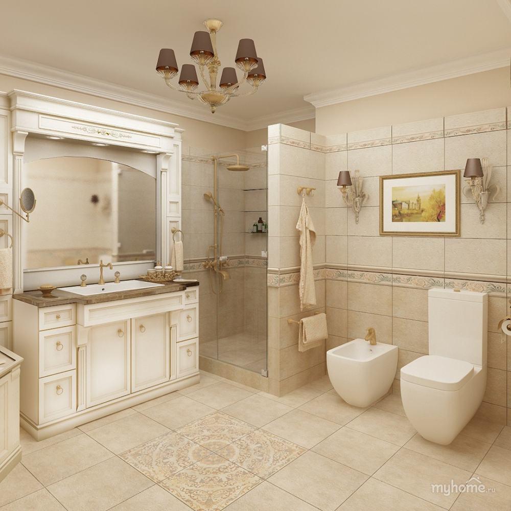 """Ремонт """"под ключ"""" ванной комнаты В66"""