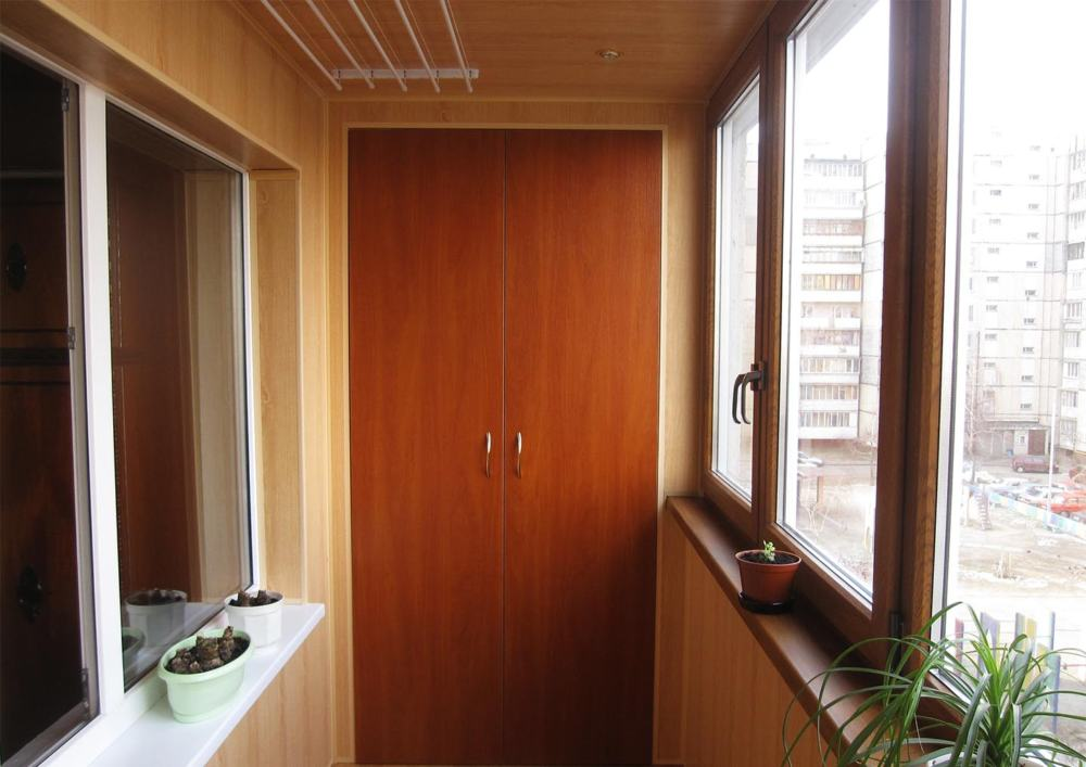 "Ремонт ""под ключ"" балкона Б05"