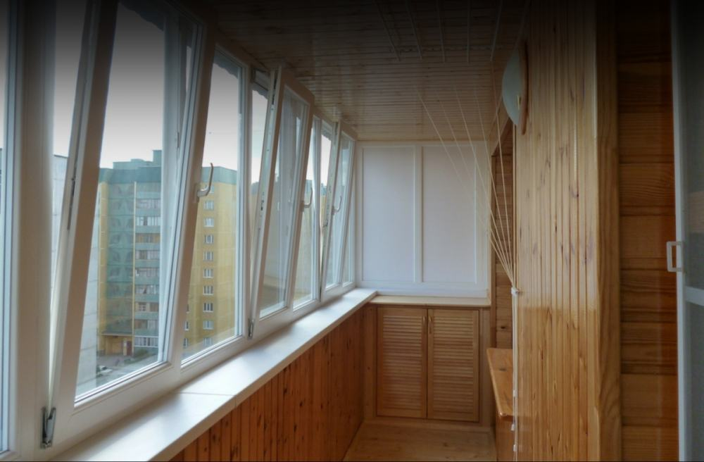 "Ремонт ""под ключ"" балкона Б03"