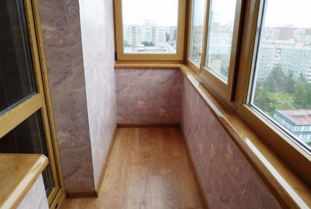 "Ремонт ""под ключ"" балкона Б07"