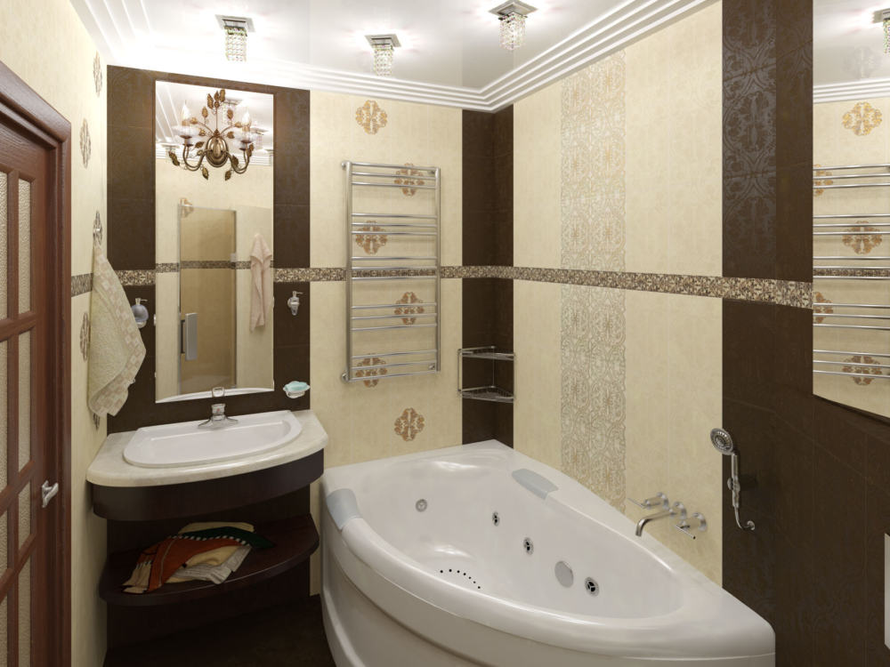 """Ремонт """"под ключ"""" ванной комнаты В11"""